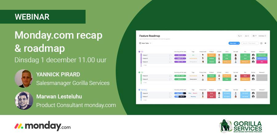 Webinar: Monday.com recap & roadmap