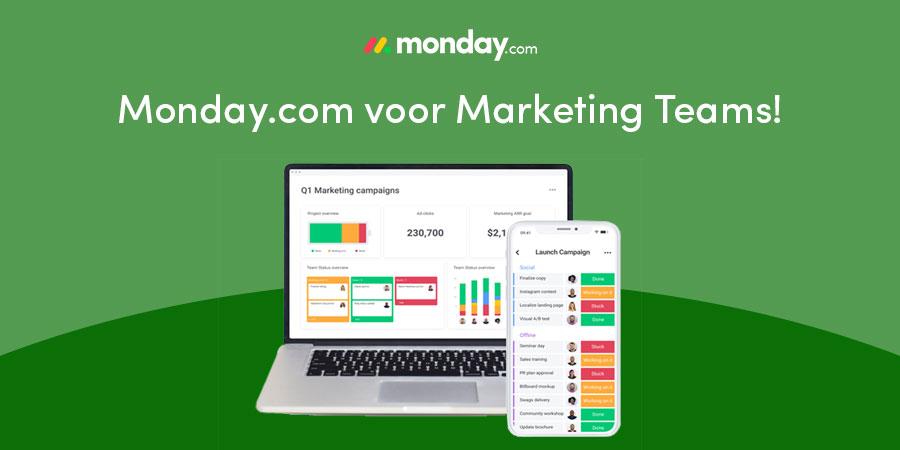monday.com voor marketing teams
