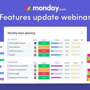 Features update webinar