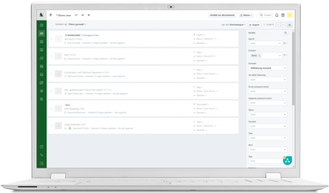Screenshot Freshdesk
